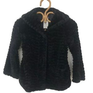 Girls Patagonia Coat Soft & Furry Mid-Weight